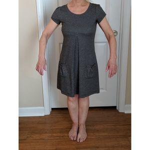 Enfocus Studio Front Pleat Dress w/ Pockets Size 6